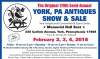 The Original 168th Semi-Annual YORK, PA ANTIQUES SHOW & SALE
