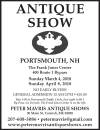 Antique Show In Portsmouth, NH