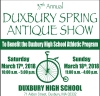 37TH ANNUAL DUXBURY SPRING ANTIQUE SHOW
