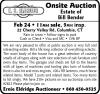 E.S. Eldridge Onsite Auction