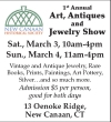 1st Annual Art, Antiques and Jewelry Show