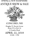 Spring in New Hampshire Antique Show