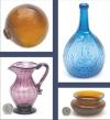Heckler Premier Antique Glass & Bottles,