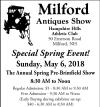 Milford Antiques Pre-Brimfield Show