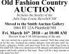 William Smith Old Fashion Country Auction