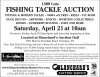 Blanchard's FISHING TACKLE AUCTION