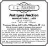 E.S. Eldridge Antiques Auction
