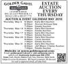 Golden Gavel Annual Pre-Brimfield Antique Auction