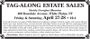 White Plains, NY Estates Sale by TAG-ALONG