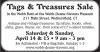 Tags & Treasures Sale