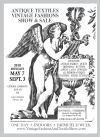 Antique Textiles Vintage Clothing Show & Sale