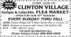CLINTON VILLAGE Antique & Collectible FLEA MARKET
