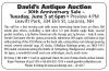 David's Antique Auction