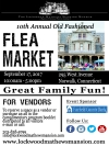 11th Annual Old Fashioned Flea Market At Lockwood-Mathews Museum