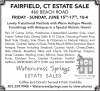 FAIRFIELD, CT - Watercress Springs Estate Sales