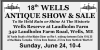 18th Annual Wells Antiques Show & Sale