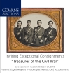 """Cowan's Inviting Exceptional Consignments """"Treasures of the Civil War"""""""