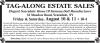 Scarsdale, NY Estate Sale TAG-ALONG ESTATE SALES