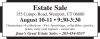 Westport, CT 06880 Estate Sale