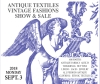 Antique Textiles Vintage Fashions Show & Sale