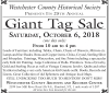 Westchester County Historical Society Giant Tag Sale