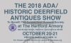 ADA/HISTORIC DEERFIELD ANTIQUES SHOW