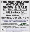 The New Milford Antiques Show & Sale