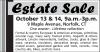 Norfolk, CT Estate Sale
