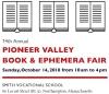 14th Annual PIONEER VALLEY BOOK & EPHEMERA FAIR