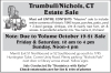 Trumbull/Nichols, CT Estate Sale