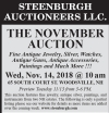 STEENBURGH AUCTIONEERS LLC. THE NOVEMBER AUCTION
