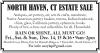 NORTH HAVEN, CT Major ESTATE SALE
