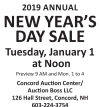 Auction Boss ANNUAL NEW YEAR'S DAY SALE