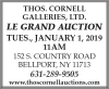 """Thos. Cornell """"LE GRAND"""" NEW YEAR'S DAY AUCTION"""