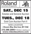 Roland Auctions Gold Coin Auction Part II