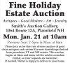 Smith's Fine Holiday Estate Auction