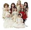 Alderfer Antique French & German bisque dolls & body parts'