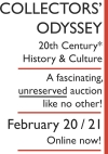 COLLECTORS' ODYSSEY 20th Century* History & Culture