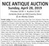 Mazzone's NICE ANTIQUE AUCTION