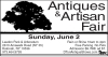 Antiques & Artisan Fair