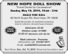 NEW HOPE DOLL SHOW