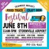 STORMVILLE AIRPORT'S Food Truck & Craft Beer Festival