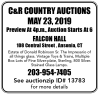 C&R COUNTRY AUCTIONS