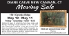 NEW CANAAN, CT  Moving Sale by DIANE CALVE
