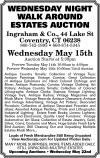 Ingraham & Co., Wednesday Night Walk Around