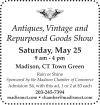 Madison, CT Antiques, Vintage & Repurposed Goods Show