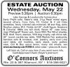 O'Connors Auctions ESTATE AUCTION