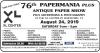 "76th ""Papermania"" Plus Antique Paper Show"