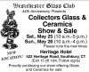 Westchester Glass Club 44th Collectors Glass, Ceramics & Americana Show
