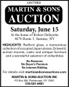 Another Martin & Sons Auction